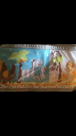 Zoo animals Baby Crib Bumper for Sale in Leicester, NC