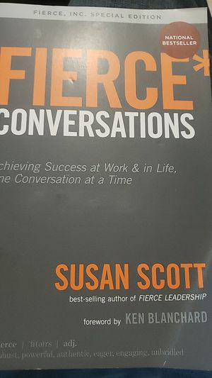 Fierce conversations for Sale in Gardena, CA