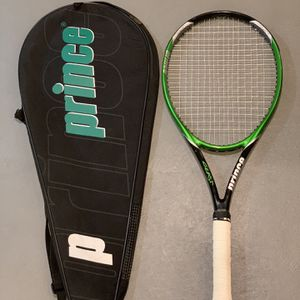 Prince tennis racket with cover for Sale in Deerfield, IL