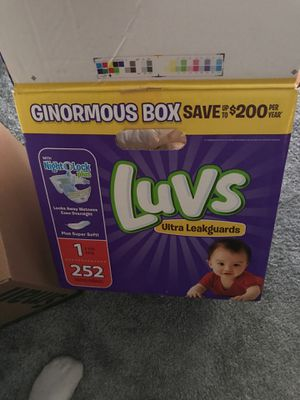 Luvs size 1 diapers for Sale in Henderson, NV