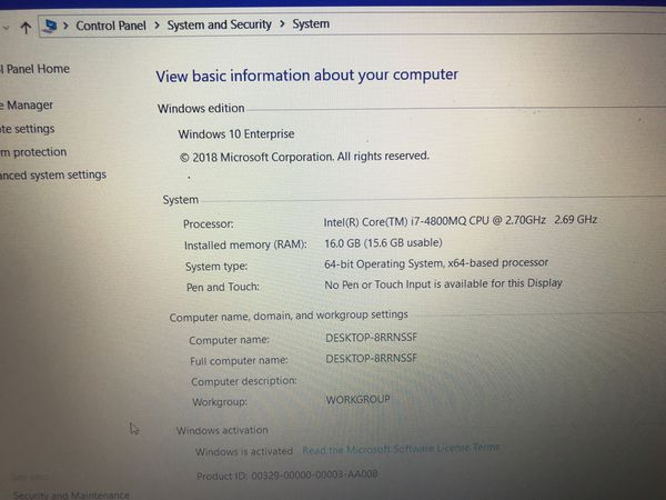 Lenovo w540 and good conditions