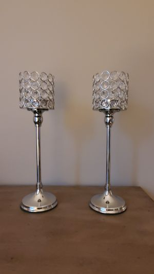 Two candle holders never used for Sale in NJ, US