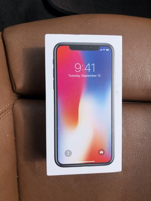 Apple iPhone X Factory unlocked for ALL CARRIERS for Sale in OCEAN BRZ PK, FL