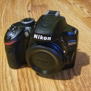 NikonD3200 DSLR Camera + Lenses for Sale in Posen, IL