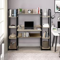 William Desk with Shelfs (Grey and Black) for Sale in Los Angeles,  CA