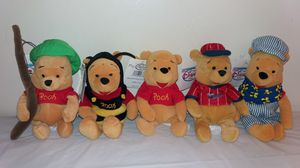 New in tags Disney assorted Pooh Beanie Babies for Sale in Westmont, IL