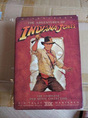 Indiana Jones DVD set for Sale in Boca Raton, FL