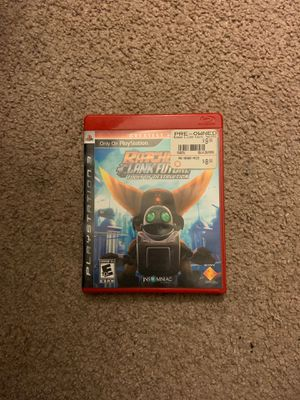 Rachel and clank future tools of destruction ps3 game for Sale in Vista, CA