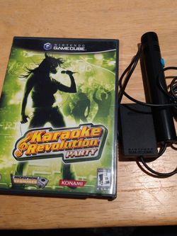 Nintendo Gamecube Game Karaoke Revolution Party for Sale in Vancouver,  WA