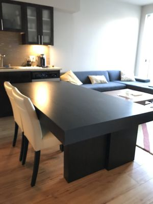 West Elm dining table espresso brown for Sale in Seattle, WA