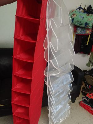Two closet hanging organizers for Sale in Austin, TX