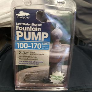 Fountain pump new in the package for Sale in Seattle, WA