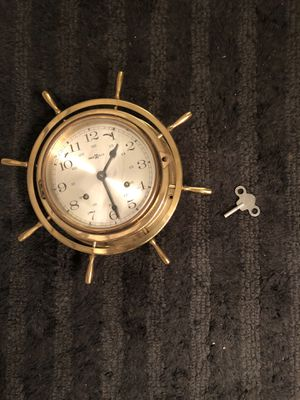 Antique brass clock for Sale in TWN N CNTRY, FL