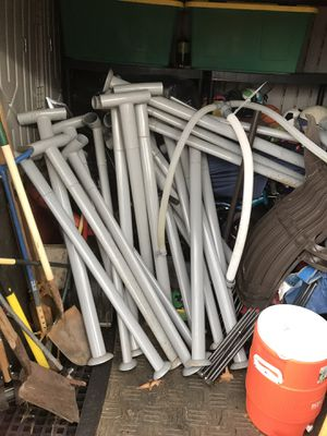 Free metal Pool frame for Sale in West Linn, OR