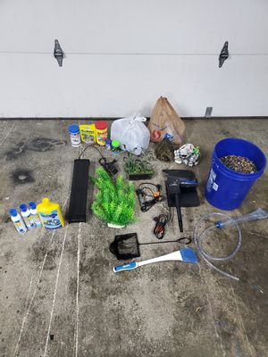 Fish Tank Supply & Accessories Bundle for Sale in Renton, WA