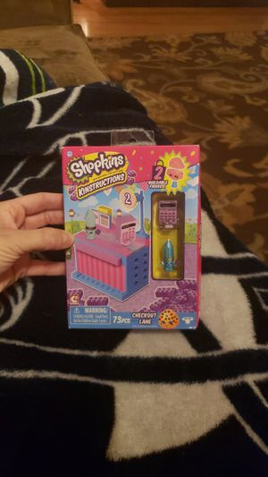 Shopkins kinstructions checkout lane for Sale in Federal Way, WA