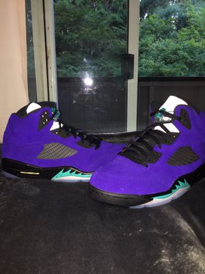 Jordan 5 alternate grape for Sale in Portland, OR