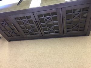 """Green Brown Tv Stand 65""""x20""""x29"""" for Sale in Duluth, GA"""
