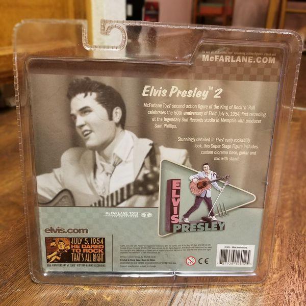 Elvis Presley action figure (rockabilly)