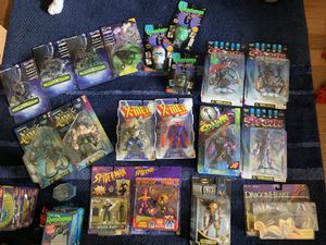 Private collection of action figures in excellent condition - all unopened boxes - many are no longer available for Sale in Tampa, FL