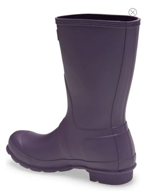 Short Waterproof Rain Boot - AUBERGINE- Size8 for Sale in Raleigh, NC