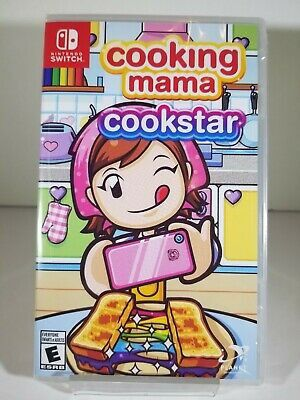 Cooking Mama Cookstar Nintendo Switch Brand new Factory Sealed for Sale in Pasadena, TX