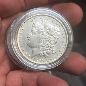 1890 P Silver Morgan Dollar brilliant Uncirculated mint state high grade. for Sale in Las Vegas, NV