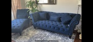 Sofa and chaise lounge. Sala for Sale in Joliet, IL