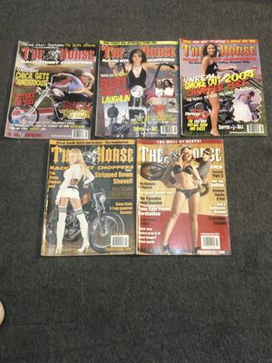 5 The Horse Mags & 1 Outlaw Biker Mag & 2 Photo Inserts for Sale in Worcester, MA
