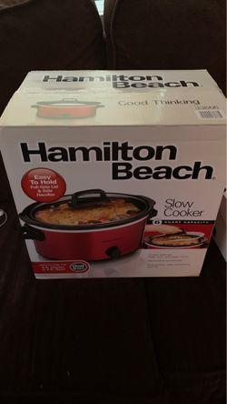 Crock pot slow cooker Hamilton beach for Sale in Atlanta,  GA