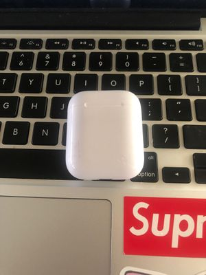 Airpods with 3rd party case for Sale in Fullerton, CA