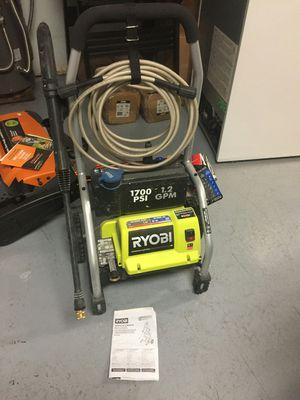 Ryobi 2,000 PSI 1.2 GPM Electric Pressure Washer for Sale in Gilbert, AZ