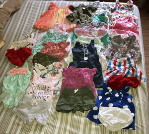 Baby girl stylish clothes from 3 to 6 months. 26 pieces in bundle. for Sale in Stamford, CT