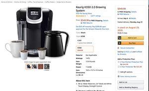 Keurig K350 Coffee Maker for Sale in South Pasadena, CA