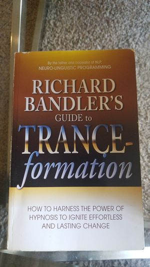 Richard Bandler's Guide to Trance-formation for Sale in Saint Paul, MN