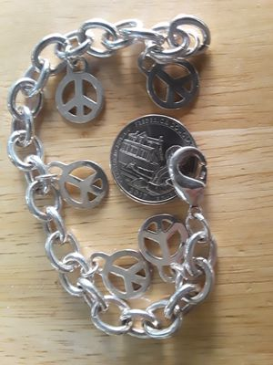 Solid silver bracelet for Sale in San Francisco, CA