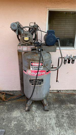 Dayton industrial compressor for Sale in Vallejo, CA