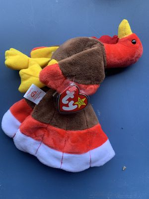 "RARE Ty Beanie Babies ""Gobbles, the Turkey"". for Sale in Beaverton, OR"