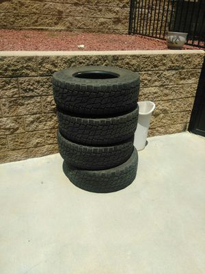 Nitto 4 tires 285/75/16 for Sale in Highland, CA