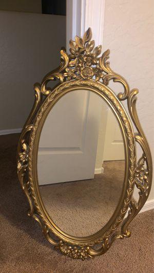 Gold Wall Mirror for Sale in Buckeye, AZ