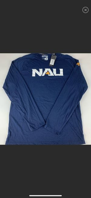 Northern Arizona Lumberjacks NCAA Adidas Performance Long Sleeve Shirt New for Sale in Young, AZ