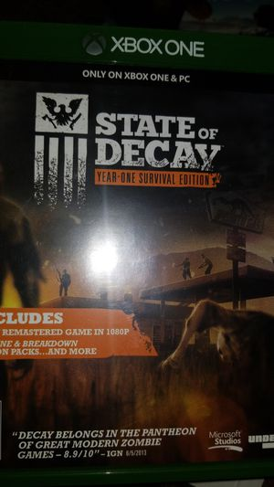 Video game---state of decay for Sale in Alexandria, VA