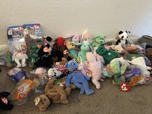 original ty beanie baby stuffed animals for Sale in Bartow, FL