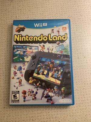 Wii U Nintendo land for Sale in Manassas, VA
