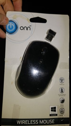 Onn wireless mouse for Sale in Plant City, FL