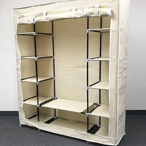 """(Brand New) $35 each Fabric Wardrobe Closet Storage Clothes Organizer 60x17x68"""" (3 Colors) for Sale in Whittier, CA"""