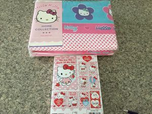 Hello kitty new full size sheets for Sale in Merrimack, NH