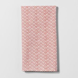Monarch Orange Diamond Kitchen Towel - Threshold for Sale in Whittier, CA