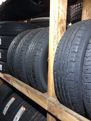 🔥 4 New ST 205/75/15 Contender Trailer tires 🔥 FREE mount and balance 🔥 for Sale in Portland, OR
