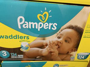 Pampers size 3 diapers new $25 each box for Sale in Rosemead, CA